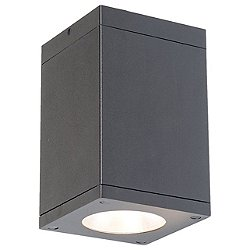 Cube Architectural Flush Mount Ceiling Light