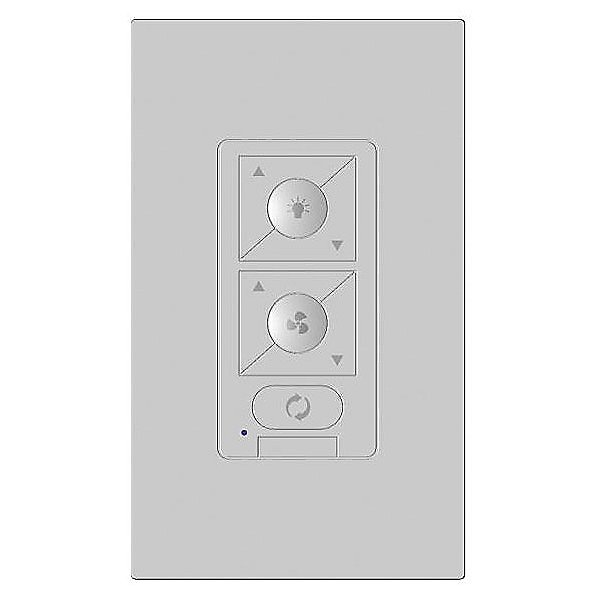 6-Speed Bluetooth Wall Control with Single Pole Wall Plate