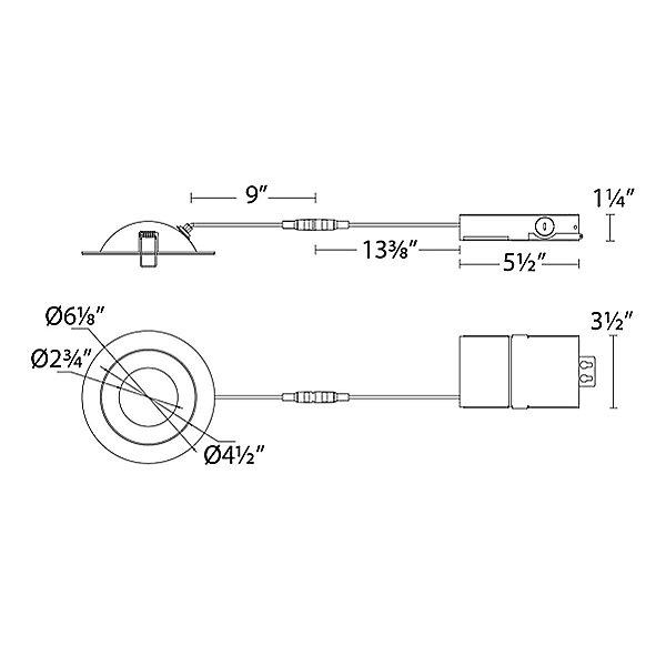 Lotos LED Round Adjustable Recessed Kit Multi-Pack