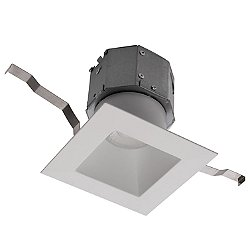 Pop-in 4in LED Square Remodel Recessed Downlight Multi-Pack