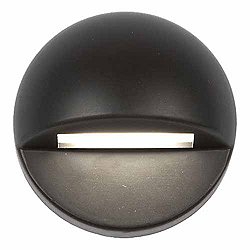 Landscape Dome Deck & Patio Light (Bronze on Brass)-OPEN BOX