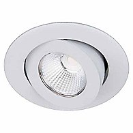 Oculux 3.5 Inch Round Adjustable Trim(White)-OPEN BOX RETURN