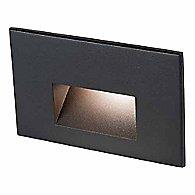 Landscape Lighting Step Light (Black on Alu/White)-OPEN BOX