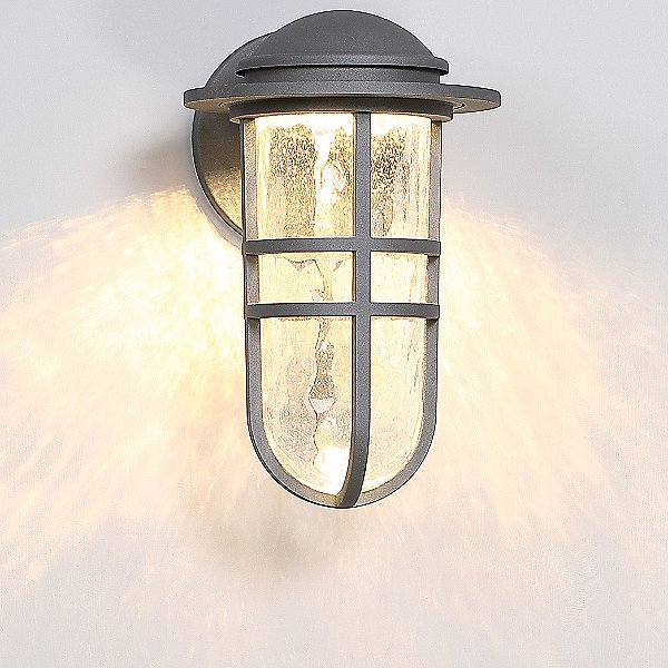Steampunk LED Indoor/Outdoor Wall Sconce