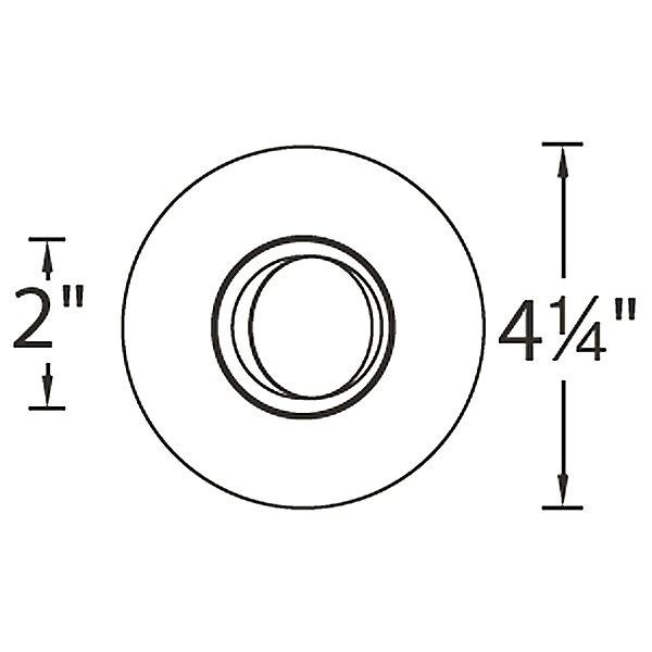 Tesla PRO 2 Inch LED 0-30 Degree Adjustable Trim T309P
