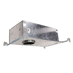 Tesla 3.5 Inch New Construction IC-Rated Airtight LED Narrow Housing - Chicago Plenum - HR-3LED-H18D