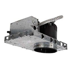 4 Inch LEDme New Construction Housing - Square Invisible Trim - HR-LED418
