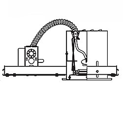 MR16 Low Voltage Multiple Spot Single Light Housing - MR-116HS