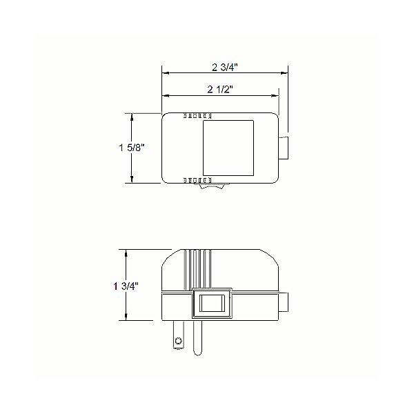 UL Listed Class 2 Plug-In Electronic Transformer - EN-1260-P-AR