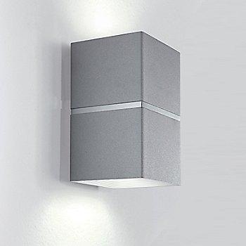 Brushed Aluminum and White finish / Small size