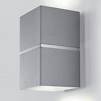 Brushed Aluminum and White finish / Large size