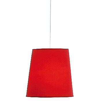 Large size / Red finish
