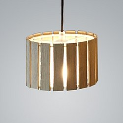 Luz Oculta Wood Mini Pendant Light