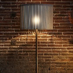Luz Oculta Wood Floor Lamp