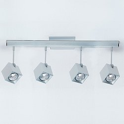 Dau Spot 4-Light Semi-Flush Mount Ceiling Light