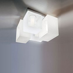 Domino 4 Light Ceiling Light