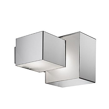 Domino Inox Two Light Ceiling Wall Light
