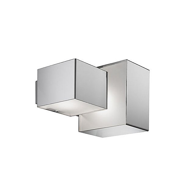 Domino Inox Two Light Ceiling / Wall Light
