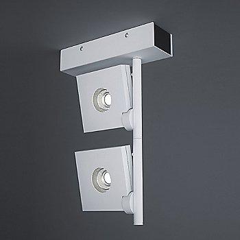 Bridge Vertical Two-Light Ceiling Light