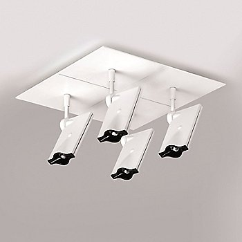 Bessons 4-Light Semi-Flushmount