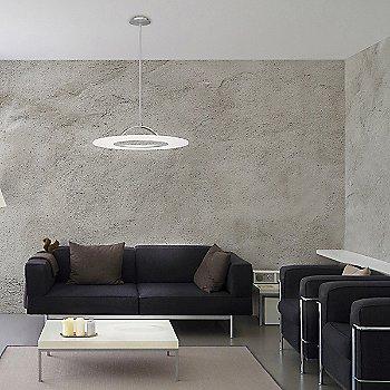 Elektron LED Convertible Semi Flush Mount Ceiling Light, in use