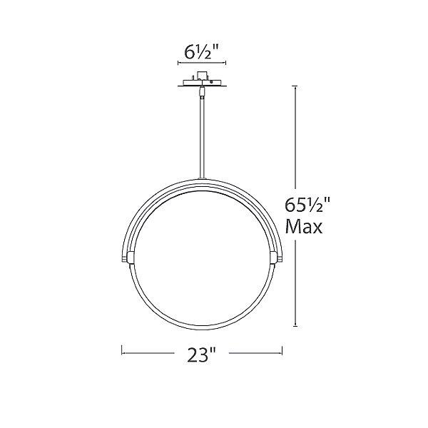 Vanity LED Pendant Light