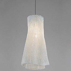 Tempo Andante Pendant Light (White/E26 Medium Base) - OPEN BOX by Arturo Alvarez