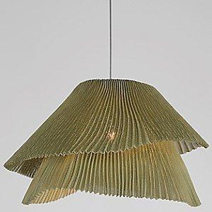 Tempo Vivace Pendant Light (Green/E26) - OPEN BOX RETURN by Arturo Alvarez