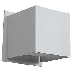 Square LED Four Inch Outdoor Wall Sconce