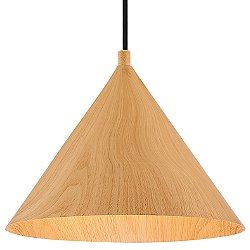 Timber LED Pendant (10in. Diameter) - OPEN BOX RETURN