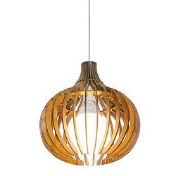 Stecche Di Legno Small Globe Pendant Light