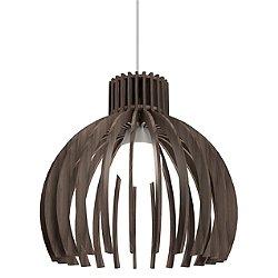 Stecche Di Legno Dome Mini Pendant Light