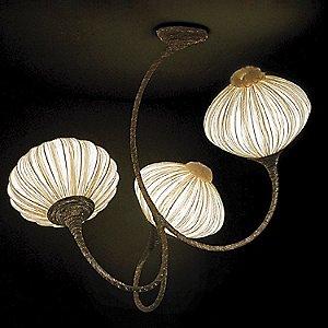 Three Palm Ceiling Light by Aqua Creations