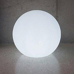 Ballia Stela Outdoor LED Globe Floor Lamp