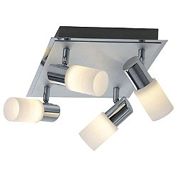 Dallas 4-Light LED Flush Mount Ceiling Light
