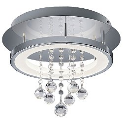 Dorian Round LED Flush Mount Ceiling Light