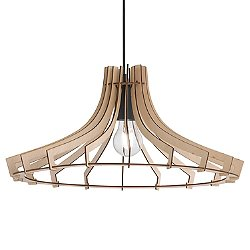 Wood R30254727/30 Pendant Light