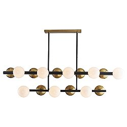 Wahlburg 2-Tiered Linear Suspension Light