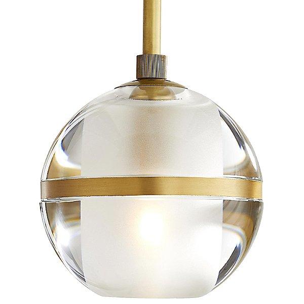 Noble Mini Pendant Light By Arteriors - Color: Gold - Finish: Brass - (49063)