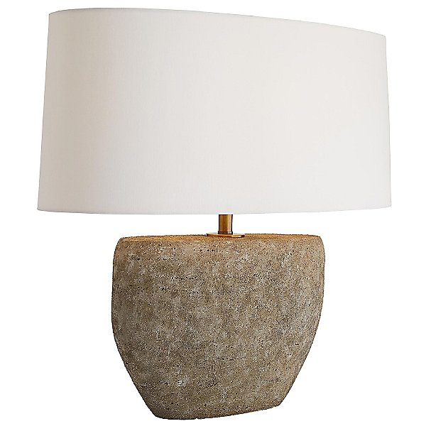 Odessa Table Lamp By Arteriors - Color: Grey - Finish: Grey - (49096-652)