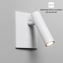 Enna Square LED Wall Sconce (White/Switch) - OPEN BOX RETURN