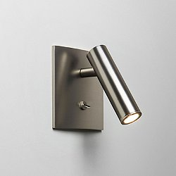 Enna Square LED Wall Sconce (Matte Nickel) - OPEN BOX RETURN