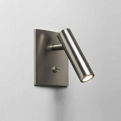 Enna Square LED Wall Sconce (Matt Nickel) - OPEN BOX RETURN