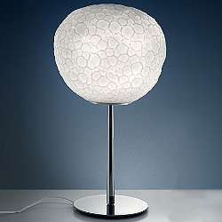 Meteorite with Stem Table Lamp