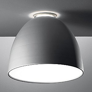 Nur LED Flush Mount Light (Aluminum/Large) - OPEN BOX RETURN by Artemide