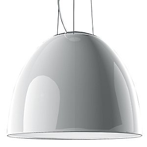 Nur Gloss LED Pendant Light (White) - OPEN BOX RETURN by Artemide