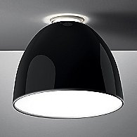 Nur Gloss Ceiling Light (Black/Incandescent) - OPEN BOX RETURN