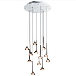 Fairy 18 Light Round Cluster Pendant Light