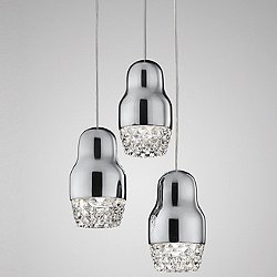 Fedora Cluster Pendant Light