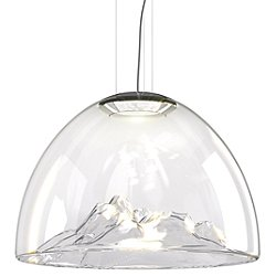 Mountain View Pendant Light